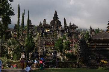 hindu mother temple on Bali