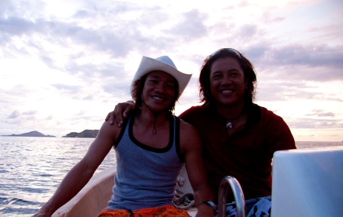 wow! incrrredible dive guides who are also brothers Irwan and Franckie