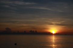 sunrise in Seraya