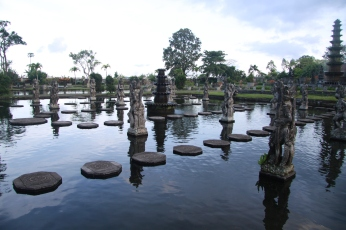 Amlapura water park in Bali