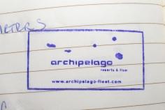 archipelago stamp