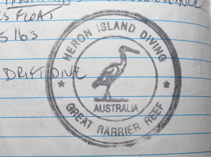 heron island stamp