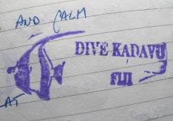 kadavu stamp