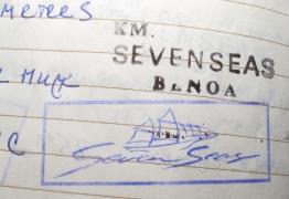 seven seas stamp