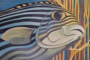 fish painting 9873 copyright