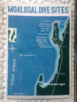 map of dive sites copyright