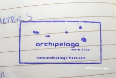 archipelago stamp copyright