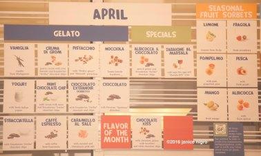 gelato flavors 1515