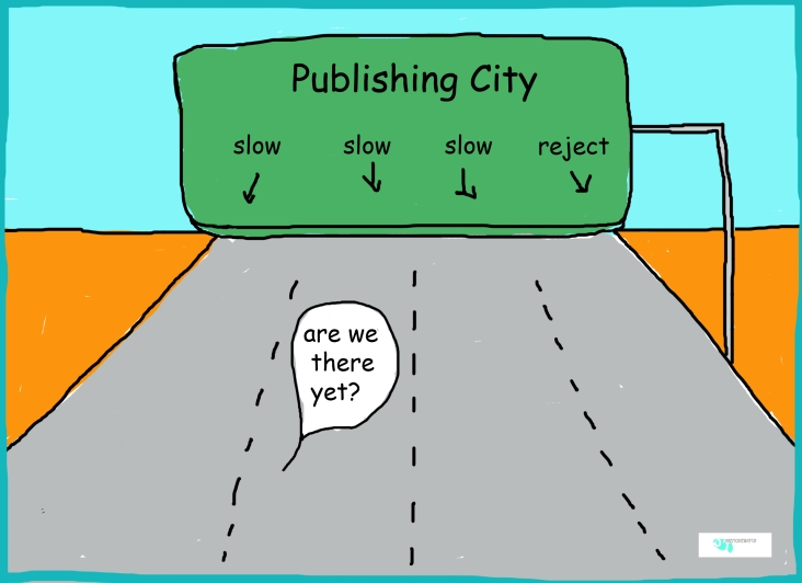 all roads to publish cartoon