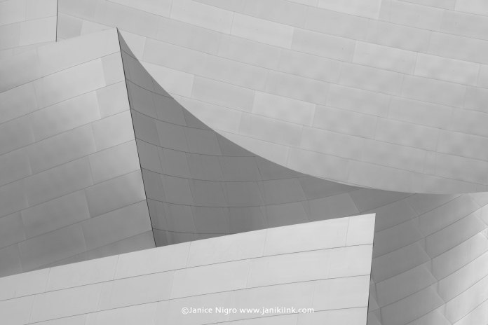 walt disney hall BW 1075 copyright