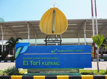 Arrival at Kupang, Timor, Indonesia.